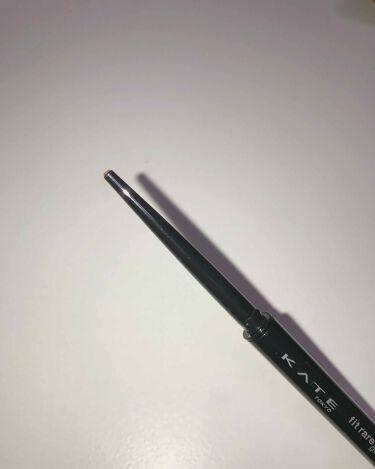 レアフィットジェルペンシル/KATE/ジェルアイライナーを使ったクチコミ(3枚目)