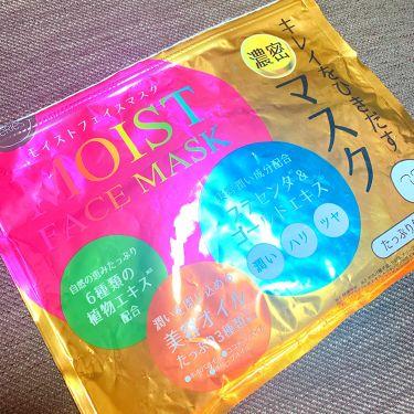 MAINICHI モイストフェイスマスク/ジャパンギャルズ/シートマスク・パックを使ったクチコミ(1枚目)