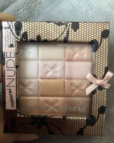 Shimmer Strips All-in-1 Custom Nude Palette for Face & Eyes/PHYSICIANS FORMULA/パウダーチークを使ったクチコミ(1枚目)
