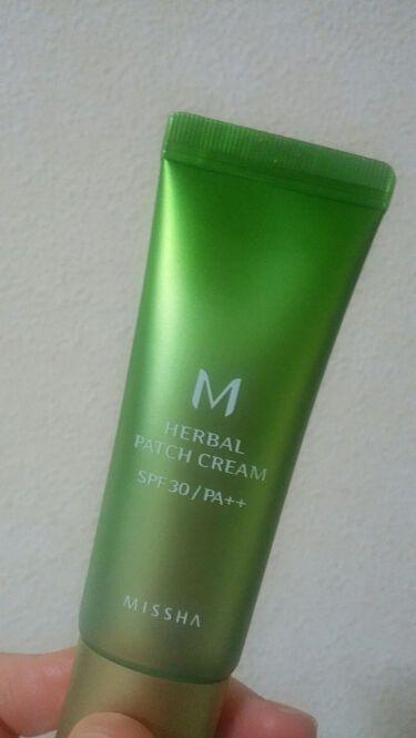 M ハーバル パッチ クリーム/MISSHA/化粧下地を使ったクチコミ(1枚目)