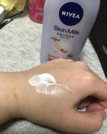 スキンミルク クリーミィ/ニベア/ボディミルクを使ったクチコミ(2枚目)