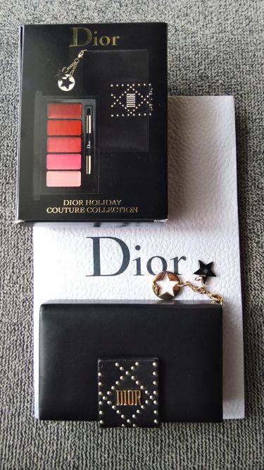 Dior ダズリングスタッズリップパレット/その他/口紅を使ったクチコミ(1枚目)
