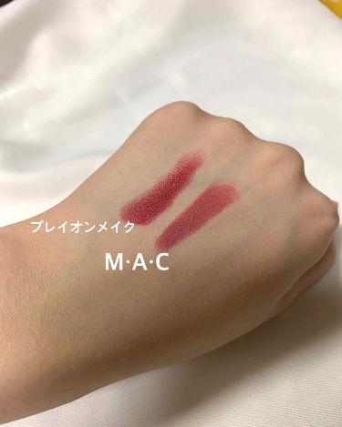 MINI MAC LIPSTICK/M・A・C/口紅を使ったクチコミ(3枚目)