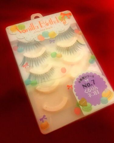 Vanilla Birthday EYELASH/ヴァニラバースデー/つけまつげを使ったクチコミ(1枚目)