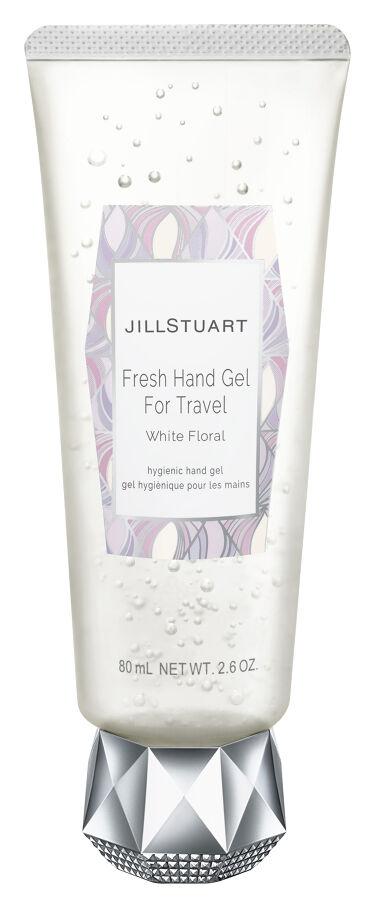 2021/3/5発売 JILL STUART フレッシュハンドジェル フォートラベル ホワイトフローラル