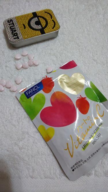 ハートのビタミンC/ファンケル/健康サプリメントを使ったクチコミ(1枚目)