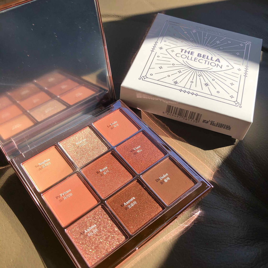 The Bella collection eyeshadow palette CELEFIT
