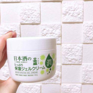 日本酒の保湿ジェルクリーム/日本盛/フェイスクリームを使ったクチコミ(1枚目)