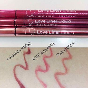 ラブライナー リキッド/ラブライナー(Love Liner)/リキッドアイライナーを使ったクチコミ(2枚目)