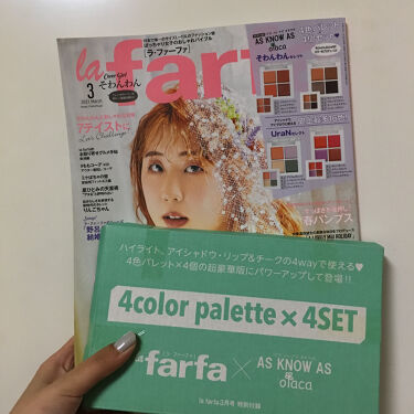 la farfa 2021年3月号/la farfa/雑誌を使ったクチコミ(1枚目)