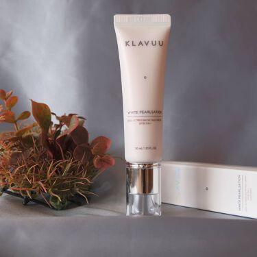 ホワイトパールセーションバックステージクリームSPF30PA++/KLAVUU/化粧下地を使ったクチコミ(1枚目)