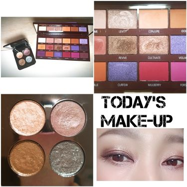 ROEN BEAUTY Eye Shadow Palette/ROEN BEAUTY /パウダーアイシャドウを使ったクチコミ(1枚目)