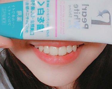 薬用パールホワイトproシャイン/beauty Labo/歯磨き粉を使ったクチコミ(2枚目)