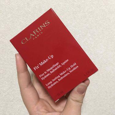 フィックス メイクアップ/クラランス/ミスト状化粧水を使ったクチコミ(1枚目)