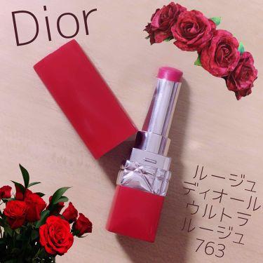 ルージュ ディオール ウルトラ ルージュ/Dior/口紅を使ったクチコミ(1枚目)