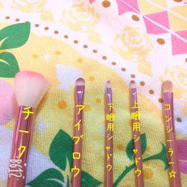 春姫 ファンデーションブラシ/DAISO/メイクブラシを使ったクチコミ(3枚目)
