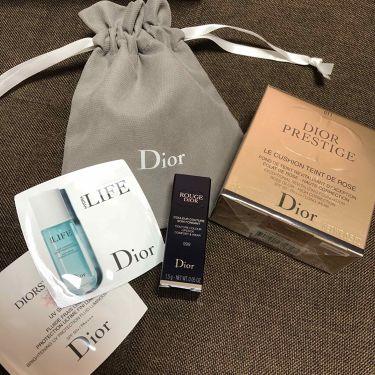 プレステージ ル クッション タン ドゥ ローズ/Dior/その他ファンデーションを使ったクチコミ(2枚目)