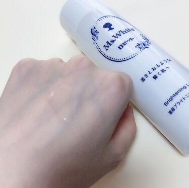 Ms. White 薬用ブライトニングローション/ロゼット/化粧水を使ったクチコミ(2枚目)