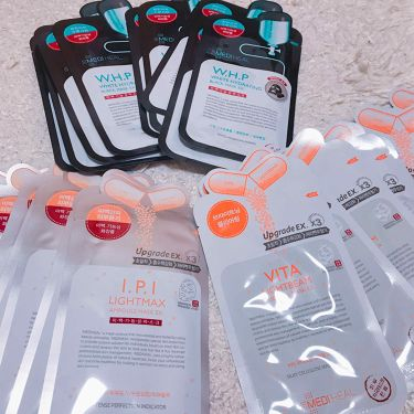 メディヒール Mediheal I.P.I ライトマックス アンプルマスク/メディヒール/シートマスク・パックを使ったクチコミ(1枚目)