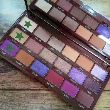 Violet Chocolate Palette/MAKEUP REVOLUTION/パウダーアイシャドウを使ったクチコミ(2枚目)