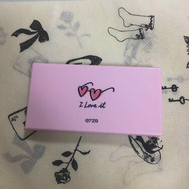 0720 アイシャドウパレット ピンク系/DAISO/パウダーアイシャドウを使ったクチコミ(2枚目)
