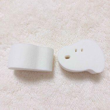 MAKE UP SPONGE  Snoopy diecut type/粧美堂/パフ・スポンジを使ったクチコミ(2枚目)