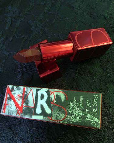 スパイクド オーデイシャスリップスティック/NARS/口紅を使ったクチコミ(1枚目)