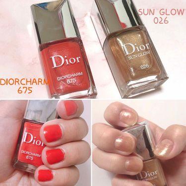 on sale 19ca7 269ba 【人気色をチェック】ディオール ヴェルニ サン グロウ / Diorのリアルな口コミ・レビュー