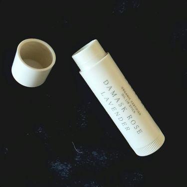 オイル リップスティック ダマスクローズ&ラベンダー/アルジェラン/リップケア・リップクリームを使ったクチコミ(2枚目)