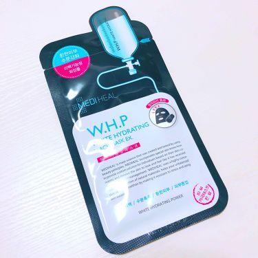 みさんの「MEDIHEAL(メディヒール)W.H.P ホワイトハイドレーティング ブラックマスクEX.<シートマスク・パック>」を含むクチコミ