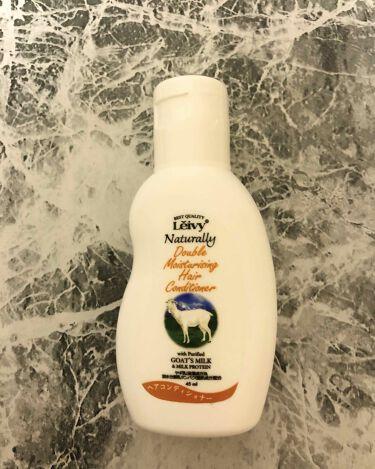 ヘアシャンプー/ヘアコンディショナーゴートミルク&ミルクプロテイン/Leivy/シャンプー・コンディショナーを使ったクチコミ(1枚目)