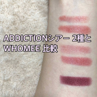 リップスティック シアー/ADDICTION/口紅を使ったクチコミ(1枚目)
