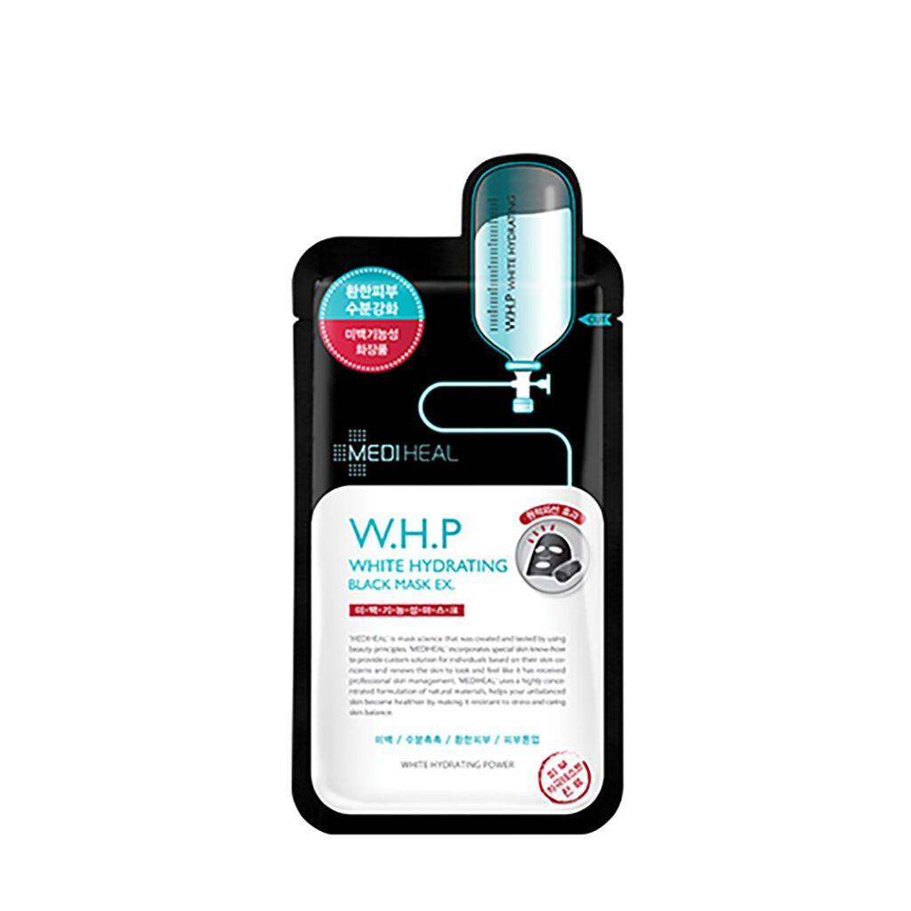 W.H.P ホワイトハイドレーティング ブラックマスクEX. MEDIHEAL