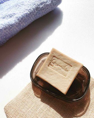 ガミラシークレット  ネロリ&ラベンダー/ガミラシークレット/洗顔石鹸を使ったクチコミ(2枚目)