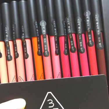 3CE  drawing lip pen kit/3CE/リップライナーを使ったクチコミ(2枚目)