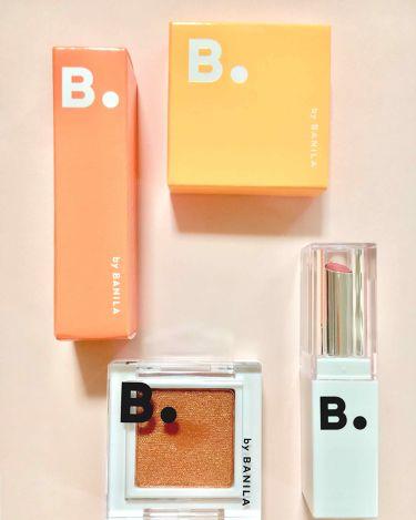 B. by BANILA Eyecursh Spangle Pigment/banilaco(韓国)/パウダーアイシャドウを使ったクチコミ(1枚目)