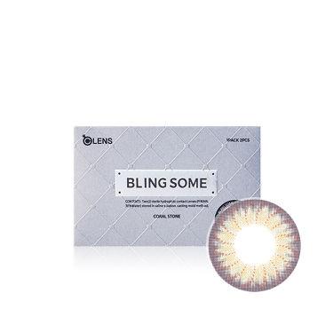 BLING SOME (ブリンサム) コーラルストーン