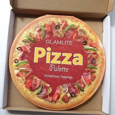 GLAMLITE Pizza Palette/その他/パウダーアイシャドウを使ったクチコミ(1枚目)
