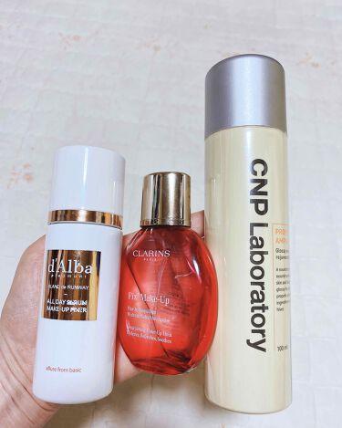 ダルバブランウェイメイクアップフィクサー/ダルバ/ミスト状化粧水を使ったクチコミ(3枚目)