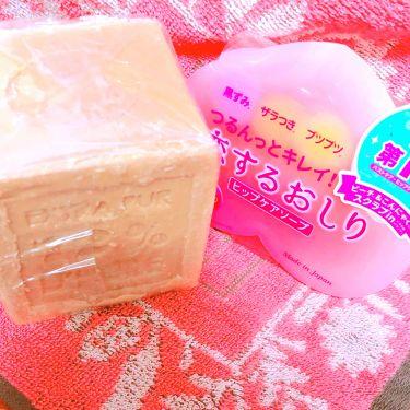 サヴォン ド マルセイユ オリーブ石鹸/ル セライユ/洗顔石鹸を使ったクチコミ(3枚目)