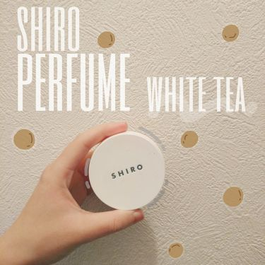 ホワイトティー 練り香水/SHIRO/香水(レディース) by もち