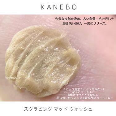 スクラビング マッド ウォッシュ/KANEBO/その他洗顔料を使ったクチコミ(2枚目)