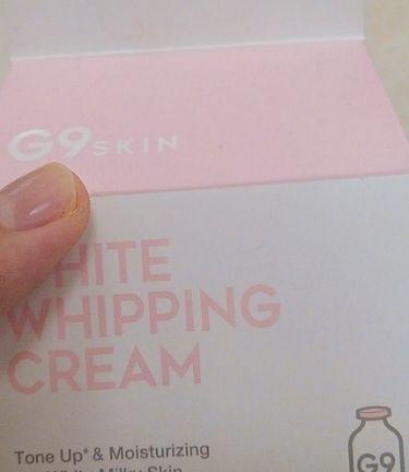 WHITE IN WHIPPING CREAM/berrisom/その他スキンケアを使ったクチコミ(2枚目)