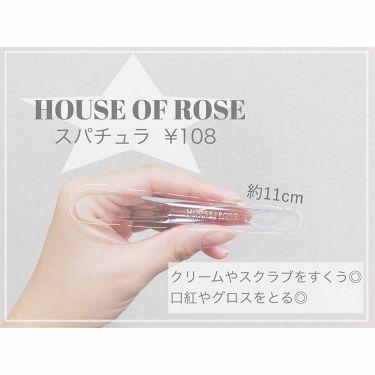 スパチュラ/HOUSE OF ROSE/その他化粧小物を使ったクチコミ(1枚目)