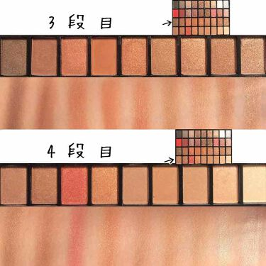 36カラーアイシャドウパレット/ドン・キホーテ/パウダーアイシャドウを使ったクチコミ(4枚目)