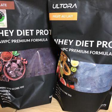 【画像付きクチコミ】【ダイエットには必須】ULTRA ULTRAWHEYDIETPROTEINプロテインって、ムキムキな人のイメージ強いですよね、昔はそう思ってました!でもプロテインってタンパク質なので、普通に人間誰しもが必要な栄養素!ダイエットやボディ...