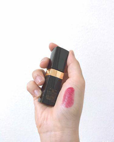 ルージュ ココ/CHANEL/口紅を使ったクチコミ(2枚目)