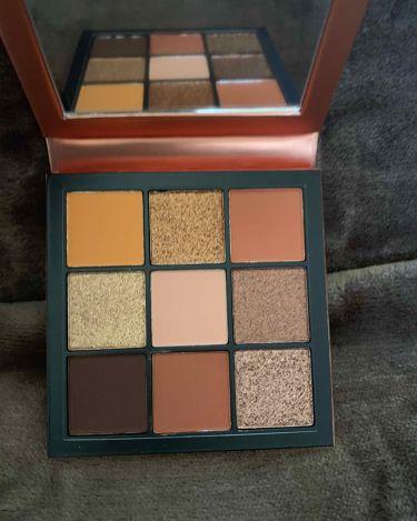 Obsessions Eyeshadow Palette/Huda Beauty/パウダーアイシャドウを使ったクチコミ(2枚目)