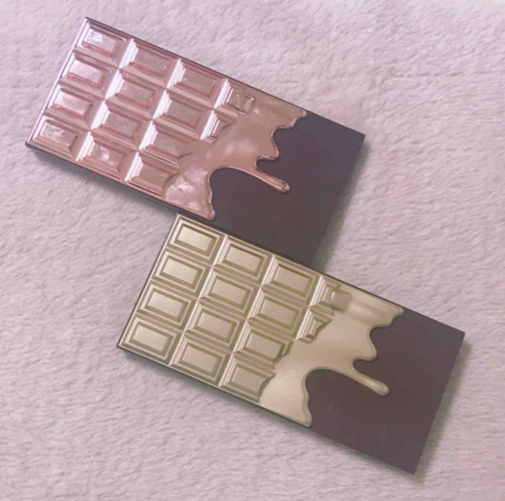 アイラブチョコレート/MAKEUP REVOLUTION(メイクアップレボリューション)/アイラブメイクアップ/パウダーアイシャドウを使ったクチコミ(1枚目)