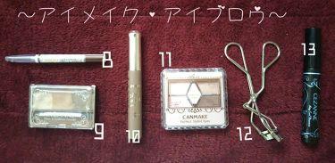 ノーズ&アイブロウパウダー/CEZANNE/パウダーアイブロウを使ったクチコミ(3枚目)